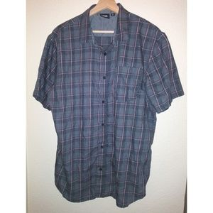 EUC Vans Mens Button Shirt